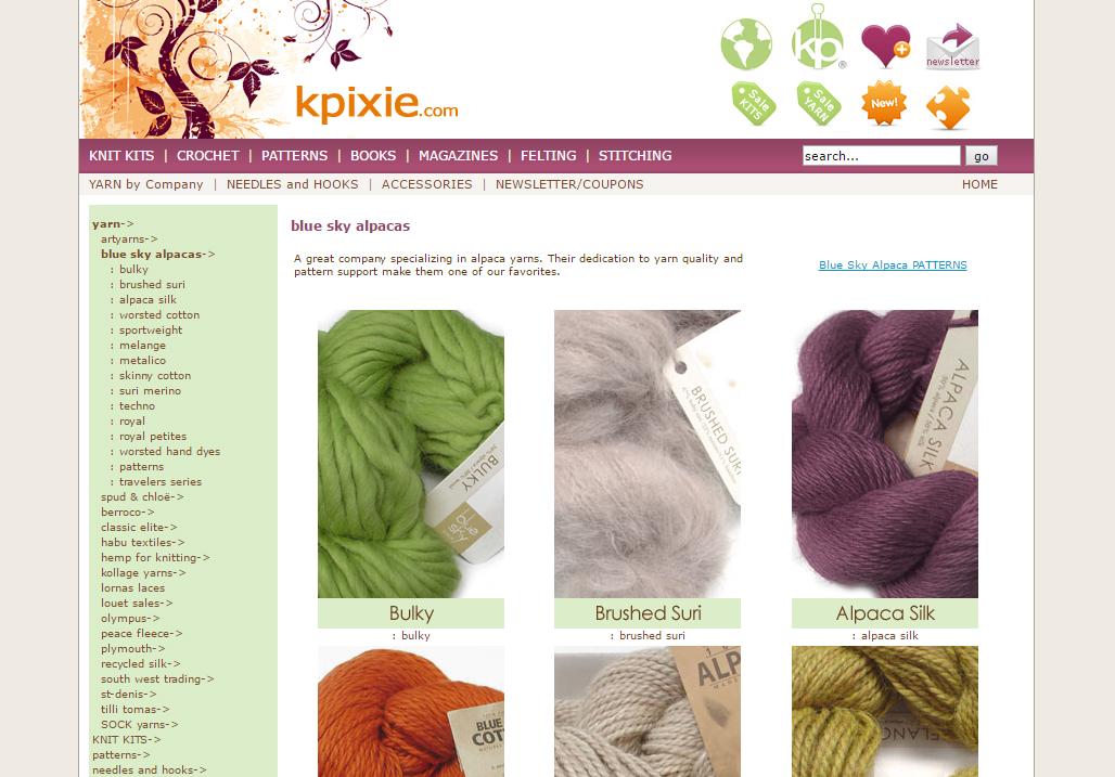 kpixie.com, OsCommerce site